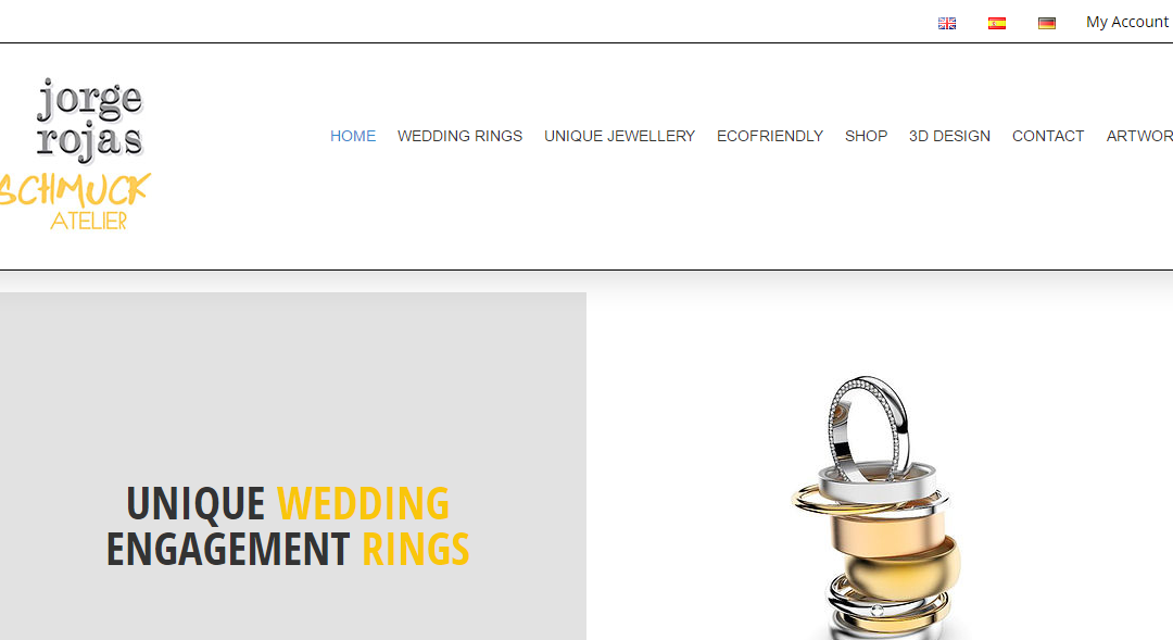 Jorge Rojas – Jewellry Website