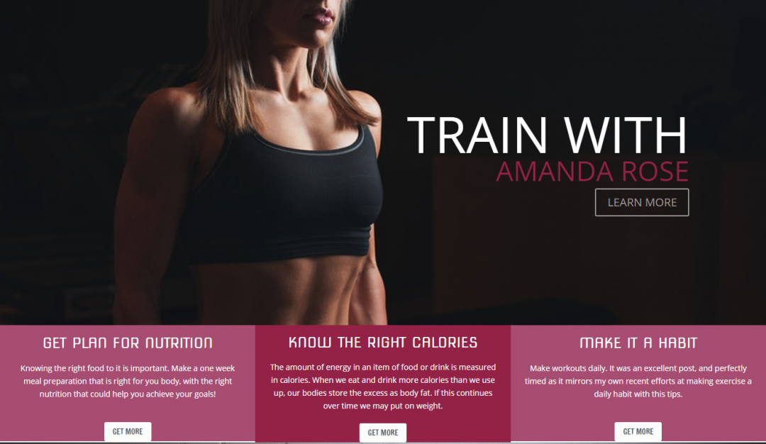 Fitness Sample 2