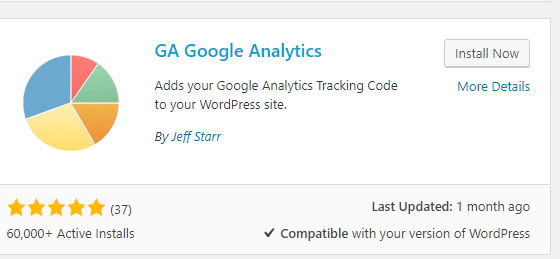 Google Analytics - GA Plugin